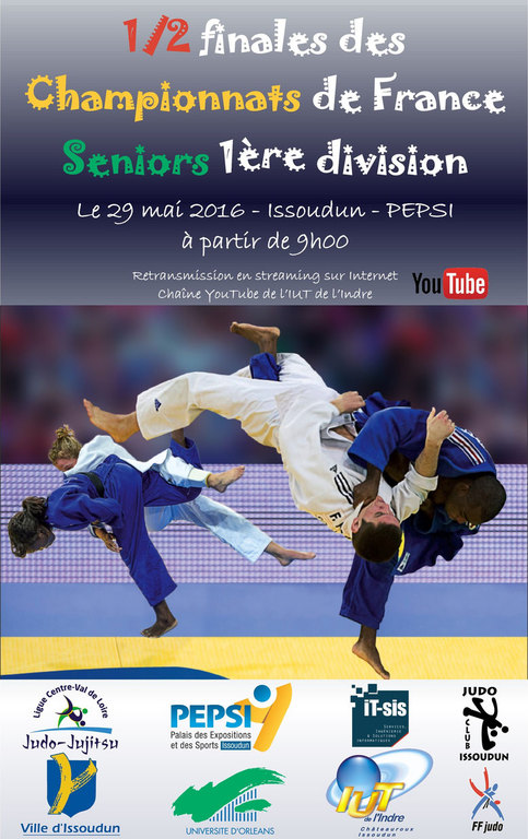 1/2 Finales France sur youtube en direct